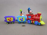 Disney London Exclusive The Disney Store Mickey Mouse Train, Mickey And Goofy