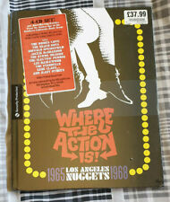 Where The Action Is! - Los Angeles Nuggets 1965-1968 - 4 CD Set - New & Sealed