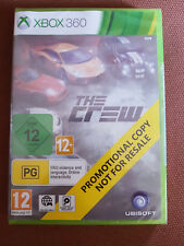 Microsoft Xbox 360 Game The Crew Brand New Sealed Promo Version