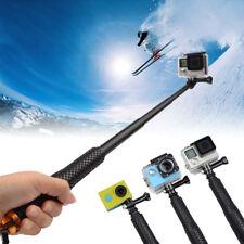 Waterproof Handheld Monopod Selfie Stick Pole For Gopro Hero 3 4 5 Black Camera
