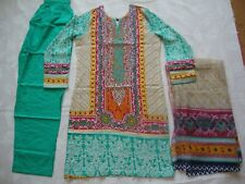 LimeLight Lawn Embroidered  Ready Made Pakistani salwar kameez  Clearance  £20