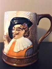 English ENGLAND Jolly Good Health Cheers Toby Stein Mug 1775 Antique Mustache
