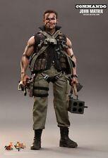 1/6 Hot Toys MMS 276 Commando John Matrix Arnold Schwarzenegger 12 inch Figure