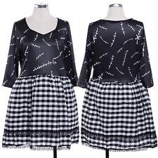 Broken Doll Cosplay Fancy Dress Ladies Womens Weekend Costume Outfit 8 10