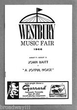 "John Raitt ""A JOYFUL NOISE"" Donna McKechnie / James Rado (""Hair"") 1966 Playbill"