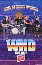 The Who 1982 Tour Original Promo Poster