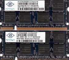 2GB 2x 1GB Kit Toshiba Satellite A135-S7404 A135-S7406 A55-S1064 Laptop Memory