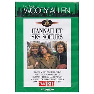 HANNAH ET SES SOEURS - Woody ALLEN / Michael CAINE / Mia FARROW - NEUF