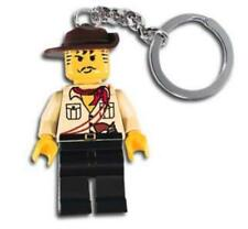 LEGO 3961 Adventure Johnny Thunder Key Chain Minifigure Accessory NEW