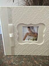 "Photo Album,Leatherette,Holds 4"" X 6"" Hold 160. Elegant Look for wedding Photos"