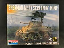 Monogram Sherman M4A1 Screamin' Mimi Tank 1:32 Scale Plastic Model Kit 85-7863