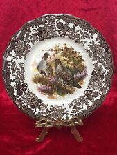 Royal Worcester PALISSY 'GAME SERIES' ~ Partridge ~ 9'' Salad/Luncheon Plate
