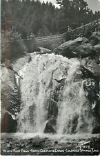 Colorado Springs Colorado~Helen Hunt Falls~North Cheyenne Canon~1950s RPPC