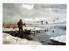 Les Kouba Trusting Bills Duck print Signed Artists Proof 19 x 12.5