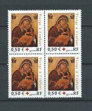 CROIX ROUGE - 2004 YT 3717 bloc de 4 - TIMBRES NEUFS** MNH LUXE