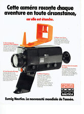Publicité advertising 078 1978 waterproof camera eumig nautica *