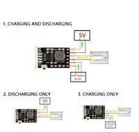 2A 5V Modulo embarcar cargador lipo de carga de bateria de litio 3.7V 4.2V DIY
