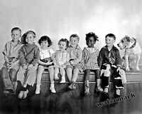 Photograph of Hollywood Group Our Gang / Little Rascals Year 1930   8x10