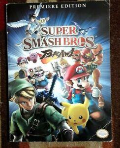 Super Smash Bros. Brawl Prima Official Strategy Game Guide + Poster