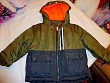 OshKosh Green & Blue hooded rain & snow jacket s:24mo. NWT