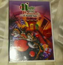 The Night Before Christmas: A Mouse Tale  (New and Sealed DVD)