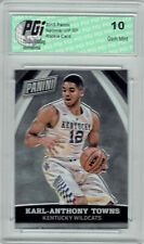 Karl-Anthony Towns 2015 Panini National VIP SP Rookie Card #88 PGI 10