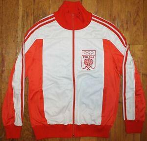 "Vintage Adidas 1980 Olympic Games Poland ""Polska"" Warm-Up Jacket"