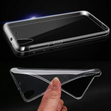 Slim Soft TPU Gel Rubber Clear Crystal Back Skin Case Cover For HTC Desire 626