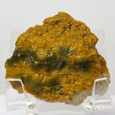 200ct Ocean Jasper Rough Natural White Druzy Yellow Green Crystal - Madagascar