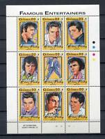 27831) Gambia 1993 MNH New Music: Elvis Presley S/S