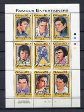 27831) GAMBIA 1993 MNH** Nuovi** Music: Elvis Presley  S/S