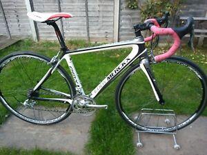 Eddy Merckx EMX-1 carbon fibre road bike, Campagnolo groupset and Khamsin wheels