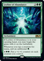 Leyline of Abundance x4 Magic the Gathering 4x Magic 2020 mtg card lot