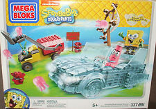 Mega Bloks SpongeBob SquarePants  Invisible Boatmobile Rescue Set 337 pcs (Lego)