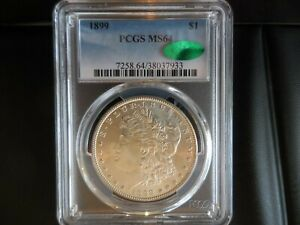1899-P PCGS MS64 Morgan - *CAC CERTIFIED*  Very Low Mintage