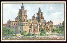 """Chromo Phosphatine Falières """" Mexico """" Cathédrale """" Mexique"""