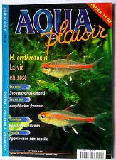 Aqua Plaisir N°32; Apprivoisier son reptile/ Reacteur à Calcium/ H. erythrozonus