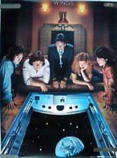 Rare Paul Mcartney And Wings 1979 Vintage Original Music Poster