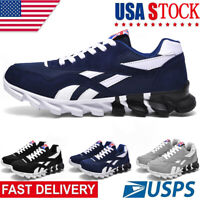 Men's Athletic Sneakers Outdoor Jogging Walking Tennis Sports Running Shoes Gym