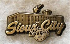 HARD ROCK HOTEL SIOUX CITY DESTINATION NAME SERIES PIN # 97779