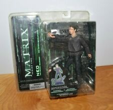 "MATRIX NEO ACTION FIGURE NIP NEW MCFARLANE TOYS 6"" 2003 RELOADED"