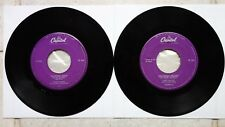 """Gene Vincent 2x dutch capitol 7"""" I 'M GOING HOME hf-263 & UNCHAINED MELODY hf-264"""