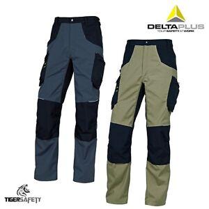 Delta Plus Panoply M5PAN Mach Spirit Mens Cargo Kneepad Work Trousers Pants