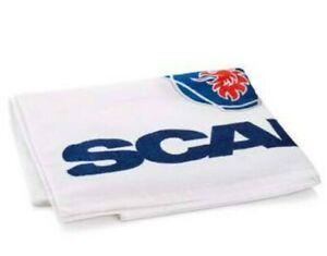 Official Scania Truck Griffin design Logo Cotton White bath towel 140 x 70cm New