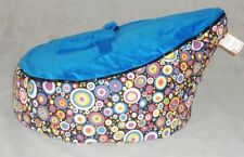Colorful Dot Baby Bean Bag Snuggle Bed Portable Seat Nursery Rocker No Stuffings