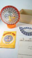 Weltzeituhr Chronos VEB Plasticart Spielzeug Bausatz gecheckt mit Karton Z-467