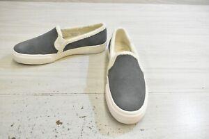 Keds Double Decker Shearling Comfort Shoes, Women's Size 5.5 M, Grey MSRP $54.95