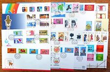 HONG KONG Official FDC's 1987 to 1983 - 33 Different Cat As Used Over £200 NB737