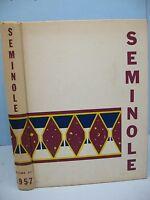 1957 Seminole, University of Florida, Gainsville, Florida Yearbook
