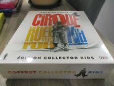 COF 2 LIVRES + 3 DVD NF CHARLES CHAPLIN : LE CIRQUE / LA RUEE VERS L'OR / LE KID